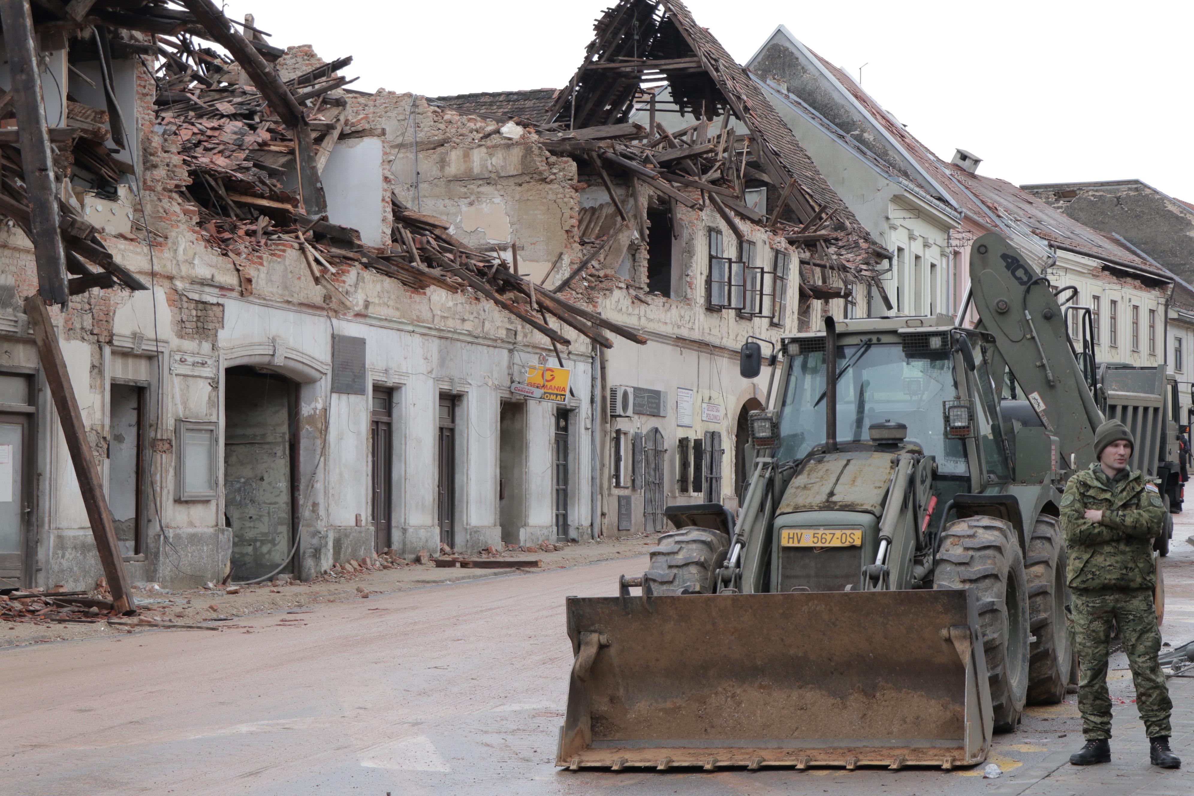 克罗地亚地震已造成7人死亡