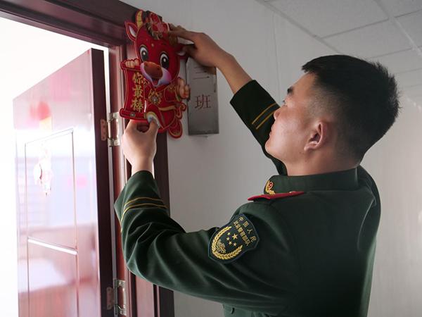 新春走基层|战鼓催春:品味武警北京总队某部不一样的年味