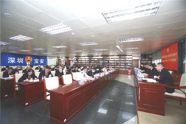 深圳宝安法院召开队伍教育整顿工作推进会